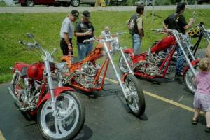 Bikes on display. Photo from CCRider