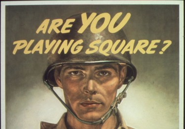Are you playing square? By Unknown or not provided (U.S. National Archives and Records Administration) [Public domain], via Wikimedia Commons