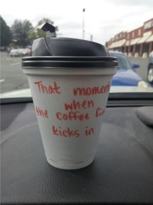 coffee kick